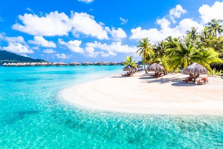 Île de Bora Bora, Polynésie française.