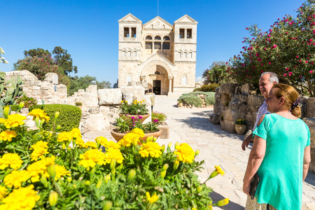 09022016, Church of the Transfiguration on Mount Tabor. Galilee, Israel.