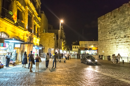 09032016, Jerusalém, Israel. Sightseeing tours through the main points of the holy city. Editorial