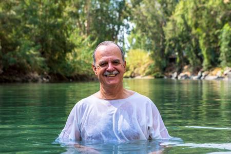 03092016, Tiberiades, Israel. The Baptismal Site on The Jordan River.