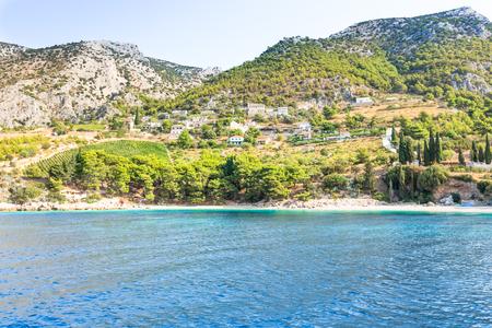 Island of Brac in Croatia, Europe. Beautiful Place. Banco de Imagens - 97660904