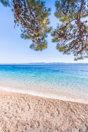Island of Brac in Croatia, Europe. Beautiful Place.