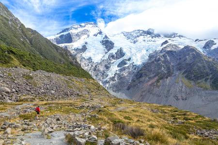 Aoraki Mount Cook National Park, New Zealand, Oceania.