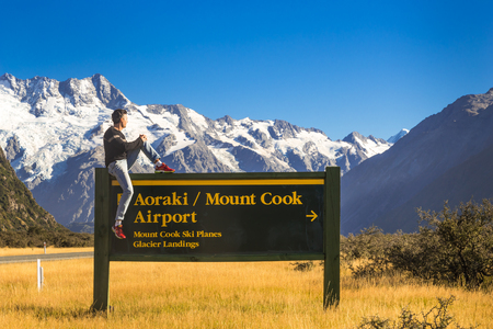 Mount Cook, New Zealand. Amazing Place.