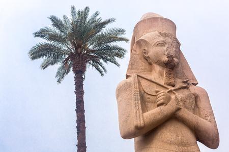 Luxor Temple, Karnak, Egypt. Africa.