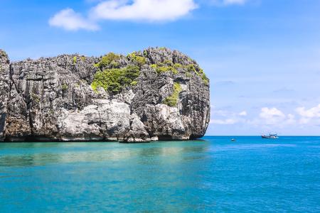 Angthong national marine park, koh Samui, Suratthani, Thailand. Asia. Zdjęcie Seryjne