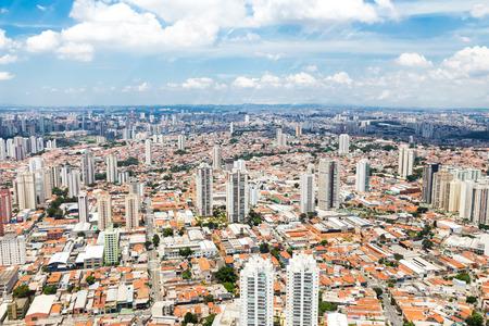 Sao Paulo, Brazil. Aerial View. South America.