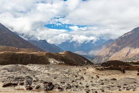 Ama Dablam Mountain. Trekking Everest Base Camp. Nepal. Asia.
