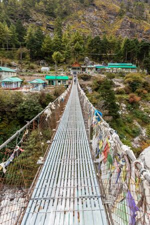 Trekking Everest Base Camp. Nepal. Asia.
