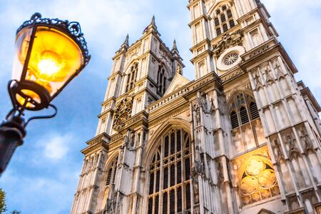 Westminster Abbey - Collegiate Church of St Peter at Westminster in London, UK Stock Photo