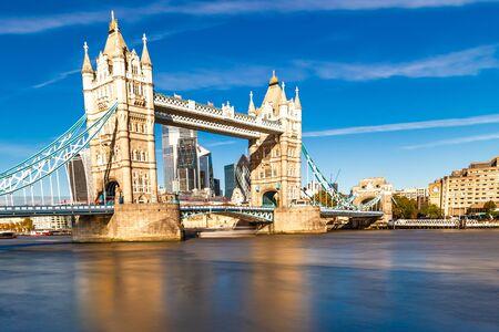 Tower Bridge in London, UK, United Kingdom. Europe.