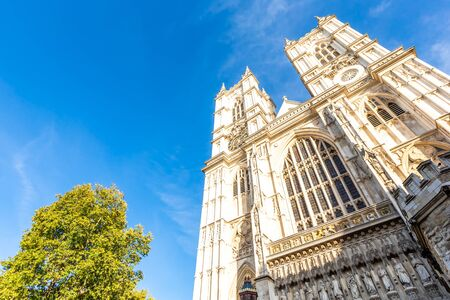 Westminster Abbey - Collegiate Church of St Peter at Westminster in London, Europe.