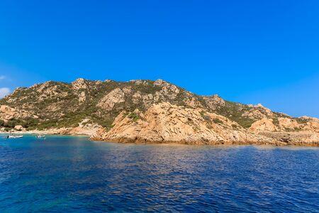 La Maddalena beach, Sardinian Emerald Coast, Italy.