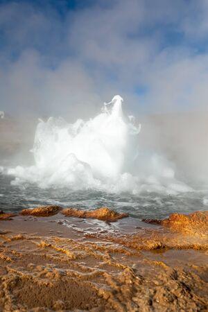 El Tatio geysers , San Pedro de Atacama, Chile. South America.