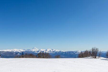Cerro Chapelco, San Martin de los Andes, Argentina. South America. Фото со стока