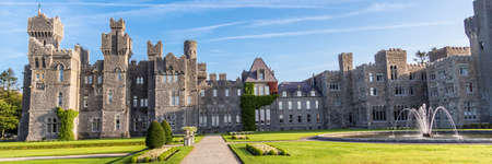 An amazing day at the beautiful Ashford Castle built in 1228. Web banner.