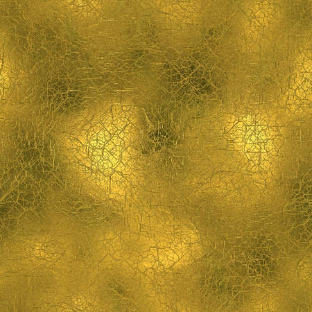 tileable: Golden Foil Seamless and Tileable Background Texture Stock Photo