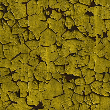 tileable background: Peeling paint seamless texture. Grungy painted peeling wall tileable background. Stock Photo