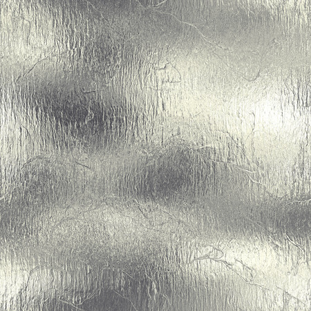 silver metal: Aluminum Foil Seamless and Tileable Texture Stock Photo