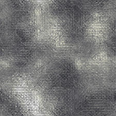 aluminum foil: Aluminum Foil Seamless and Tileable Texture Stock Photo