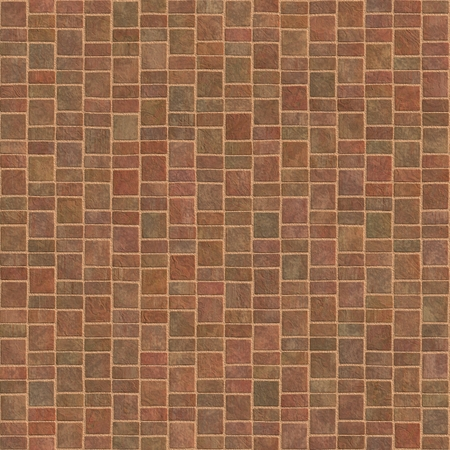 pavement terracotta tiles geometric pattern seamless and tileable background texture photo