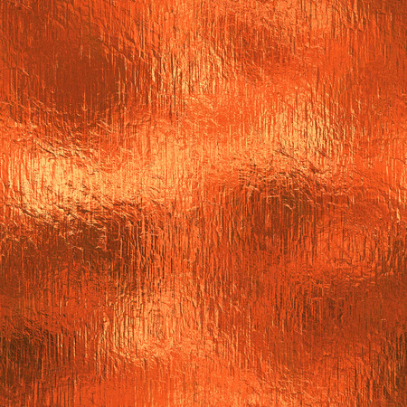 jpeg: Orange Foil Seamless and Tileable Background Stock Photo