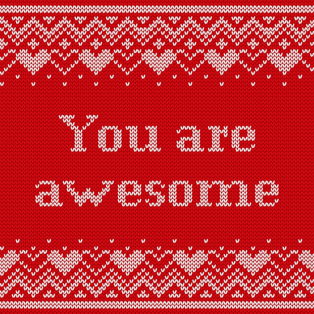 You are awesome.