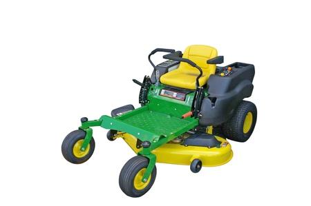 Lawn tractor Standard-Bild
