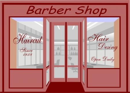 hair dresser: haircut shop