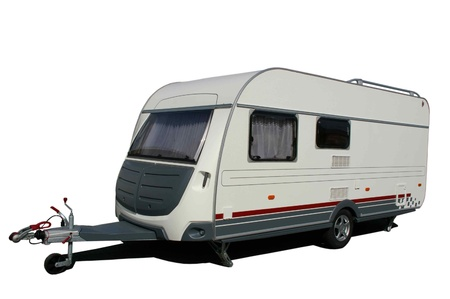 small caravan holiday