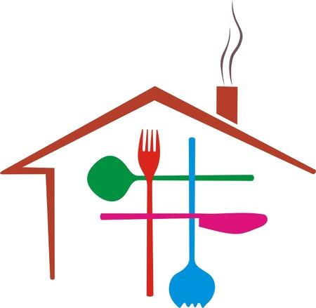 restaurant business Ilustrace