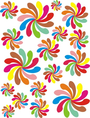 rotary: FLOWER ROTARY Illustration