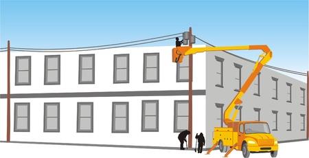 mounting: MAINTENANCE BUSINESS Illustration
