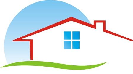construction: HOUSE CONSTRUCTION Illustration
