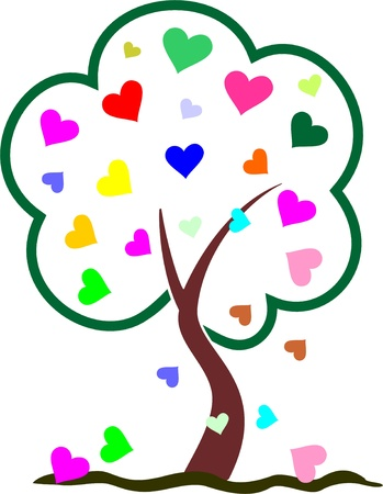 a bough: TREE HEART