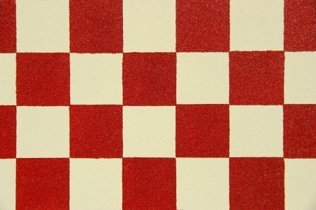 substructure: red and white checkers