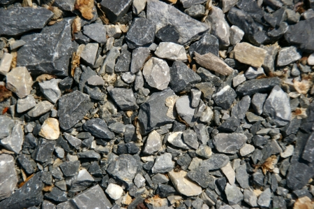 substructure: pebble background
