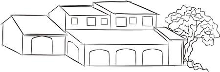constuction: LOW BUILDING