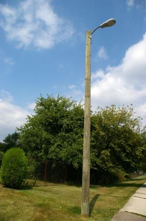 woden: wooden lamp
