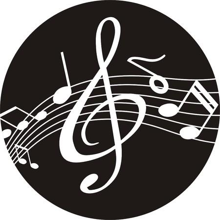 chorus: CD AND MUSIC Illustration