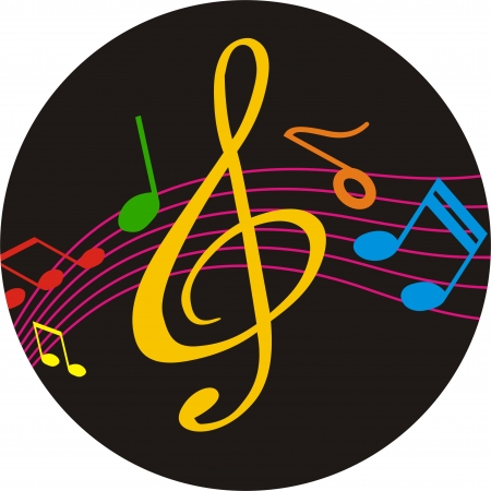 cd player: MUSIC AND CD Illustration