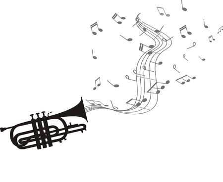 TRUMPET Stock Illustratie