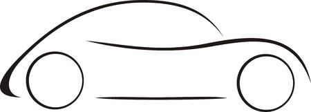 Small Car Stock Illustratie