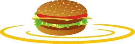 acronym: BURGER Illustration