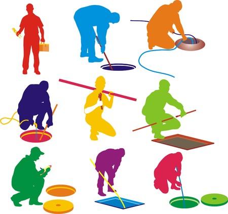 mounting: PLUMBING SERVICE Illustration
