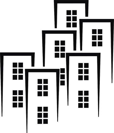 buildings Stock Vector - 27734526