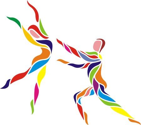 FREE DANCE Illustration