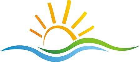 太陽と自然