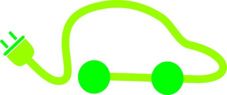 ELECTRIC CAR Иллюстрация