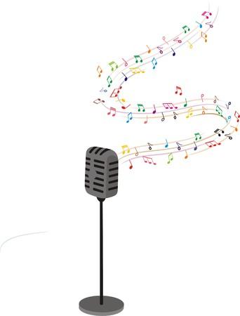 Musik-Herz Standard-Bild - 34487164